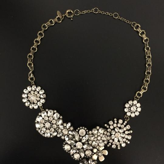 Ily Statement Crystal Flower Necklace Image 8