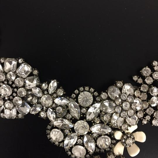 Ily Statement Crystal Flower Necklace Image 9