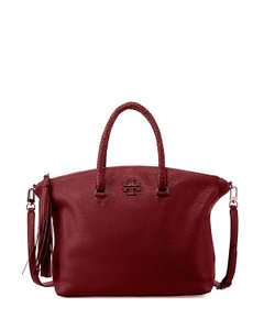 Tory Burch Satchel in Imperial Garnet