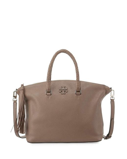 Item - Taylor Slouchy Silver Maple Leather Satchel