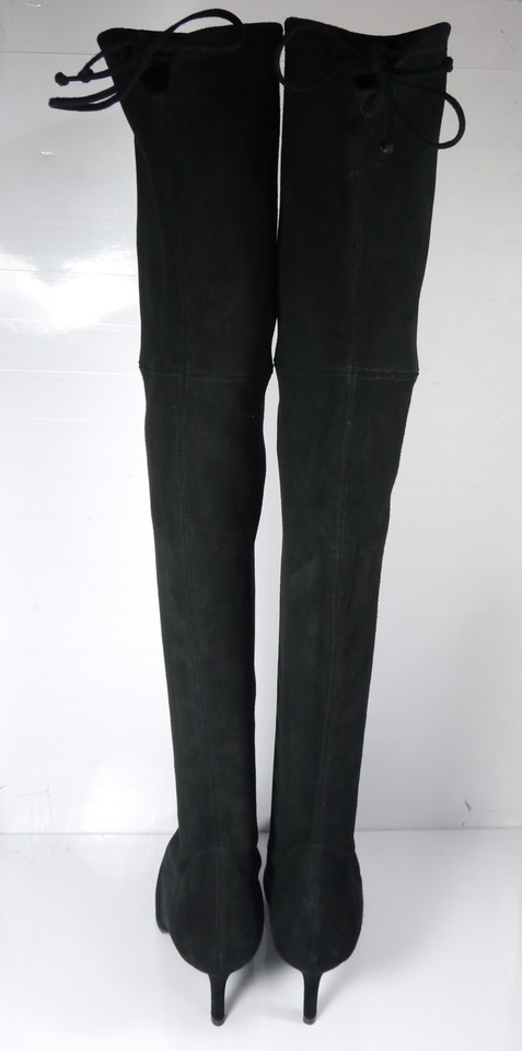 d234765b2 Clothing, Shoes & Accessories Stuart Weitzman Tiemodel Stretch Suede Over  The Knee Boot size 10 M Women's Shoes
