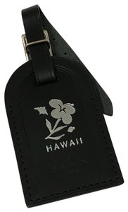 Louis Vuitton Hawaii Leather SHW luggage tag