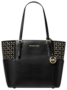 Michael Kors Leather 30h8gtvt4s Tote in Black