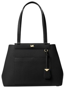 Michael Kors Leather 30t8gkwt8l Tote in Black