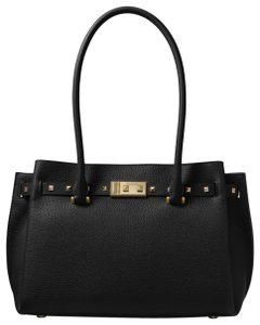 Michael Kors Leather 30t8gzft2l Tote in Black
