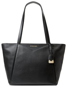Michael Kors Leather 30s8gn1t3l Tote in Black