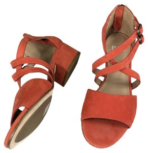 6cc27c26c7a Orange Eileen Fisher Sandals - Up to 90% off at Tradesy