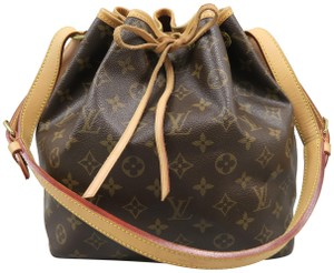 Louis Vuitton Noe Monogram Canvas Shoulder Bag
