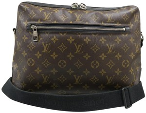 Louis Vuitton Lv Monogram Canvas Brown Messenger Bag