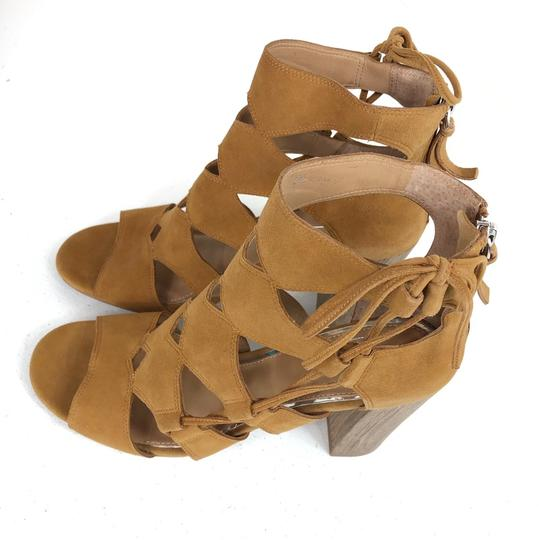 Linea Paolo Brown Sandals Image 10