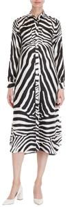 Black and White Maxi Dress by Carolina Herrera