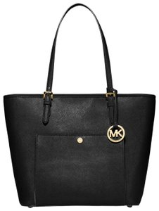 Michael Kors Leather 30s6gttt3l Tote in Black