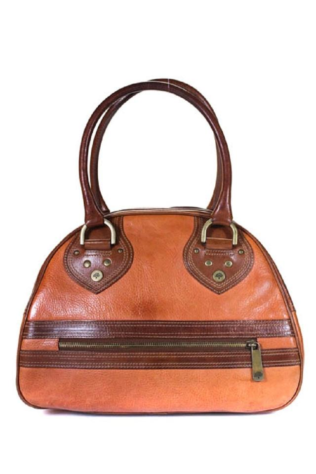 891777864e Mulberry Bowling Style Style Two Shades Of Leather/Brass Classic Satchel in  buttery British tan ...