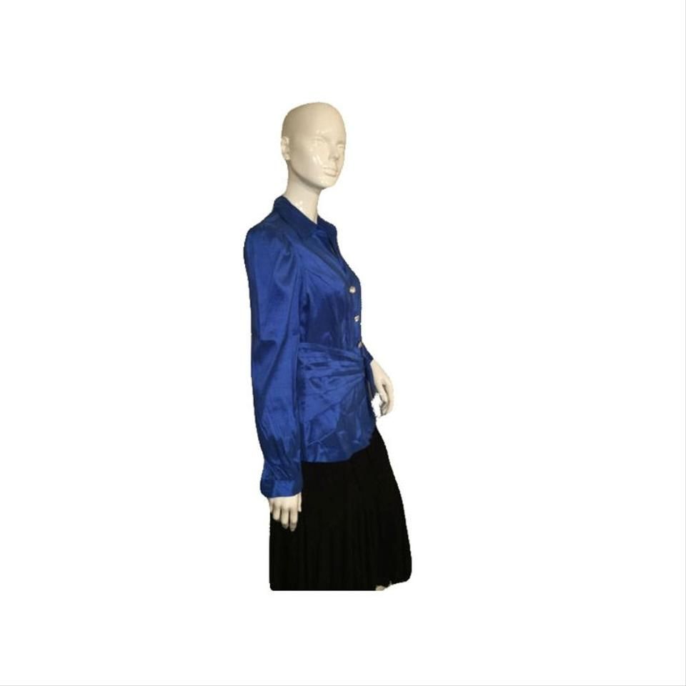 c92b23a8d Chetta B. by Sherrie Bloom and Peter Noviello Button Down Shirt Blue Image  3. 1234