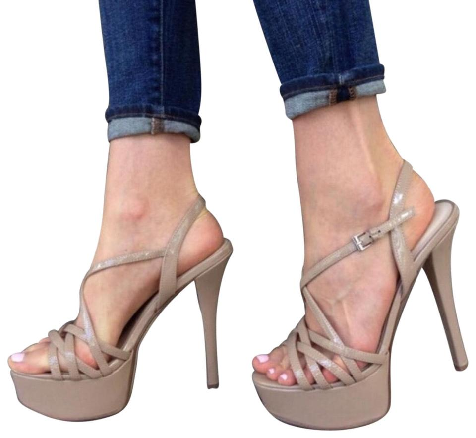 48d0dc0dafd Chinese Laundry Nude Teaser High Heel Tan Platforms Size US 8.5 ...