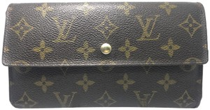 Louis Vuitton Louis Vuitton Monogram Continental Trifold Long Wallet