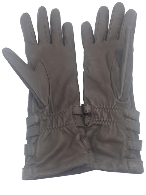 Item - Brown Leather Gloves 4650/ 01072