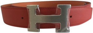 Hermès Hermes H Stripe Belt Buckle & Reversible Strap 32mm