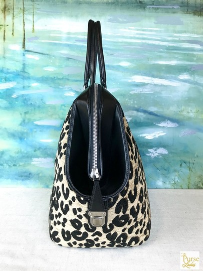 Louis Vuitton North South Tote in Leopard