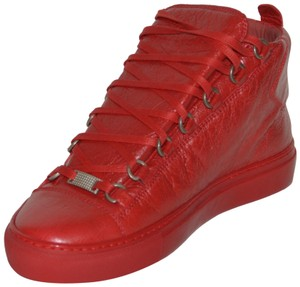 Balenciaga Sneakers Red Athletic