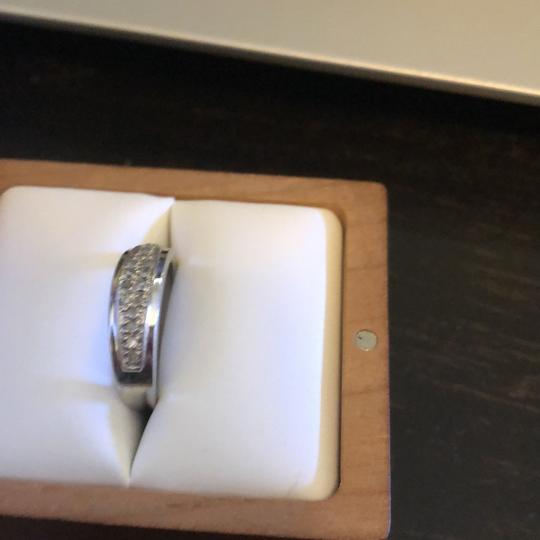 10k White Gold Women's Wedding Band