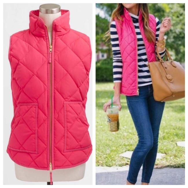Item - Pink Diamond Quilted Puffy Puffer Vest Size 2 (XS)