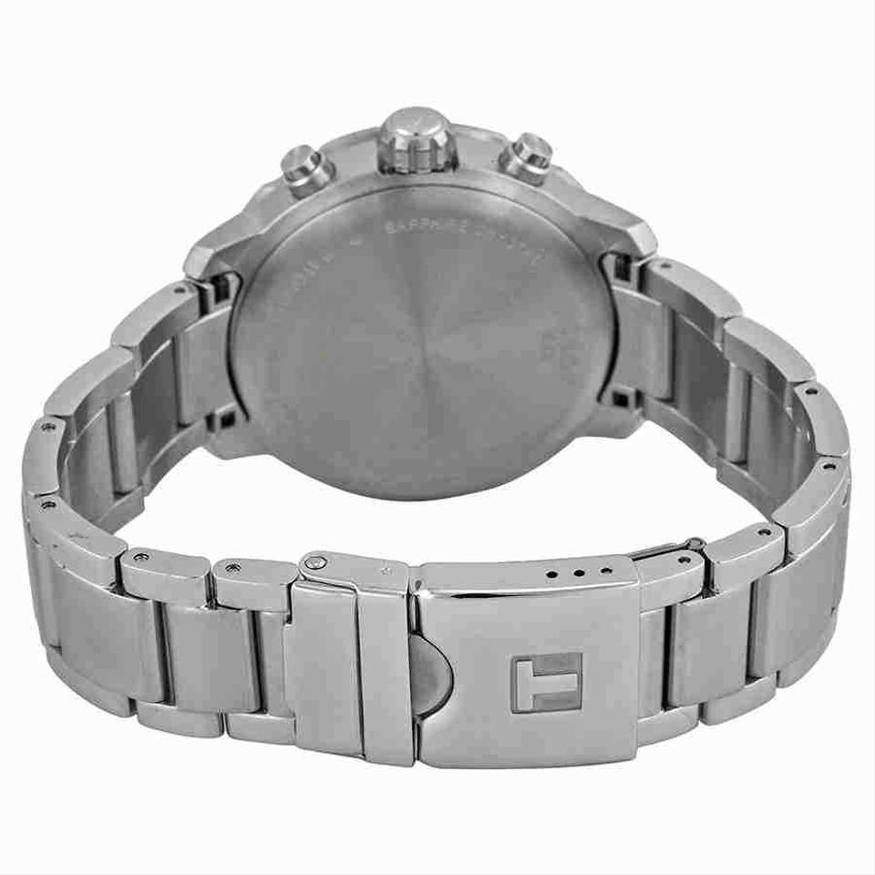 c9c2bece812 Tissot Quickster Chronograph Anthracite Dial Stainless Steel Men's Watch  Image 2. 123