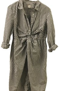 Gap Gap Maternity Stripe Shirtdress (size L) varsity stripe
