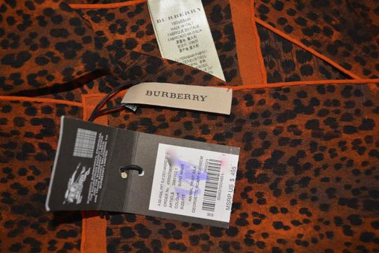 Burberry BURBERRY LARGE SILK ANIMAL PRINT SCARF WRAP MADE IN ITALY Image 3