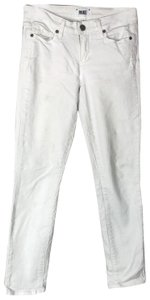 Paige Crop Mid Rise Skinny Jeans-Light Wash