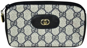 Gucci Vintage Gucci GG Monogram Make-up Cosmetic Bag/Clutch