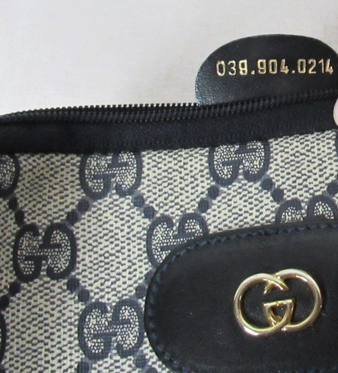 Gucci Vintage Gucci GG Monogram Make-up Cosmetic Bag/Clutch Image 2