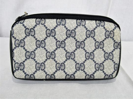 Gucci Vintage Gucci GG Monogram Make-up Cosmetic Bag/Clutch Image 5