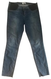 Paige PAIGE Maternity Verdugo Ankle Jeans With Raw Hem