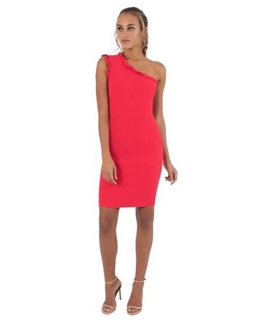 Item - Red Women's Pravella Mid-length Cocktail Dress Size 6 (S)