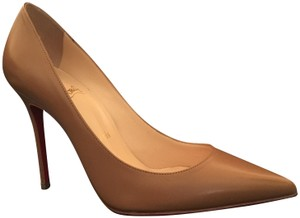 Christian Louboutin Noisette/Nude Pumps