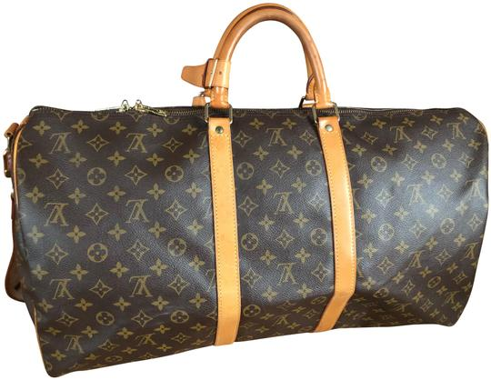 Preload https://img-static.tradesy.com/item/24506415/louis-vuitton-bandouliere-55-brown-monogram-canvas-and-leather-weekendtravel-bag-0-3-540-540.jpg