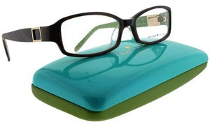 Kate Spade FLORENCE-0JDJ-53 Rectangle Women's Horn Green Frame Clear Eyeglasses