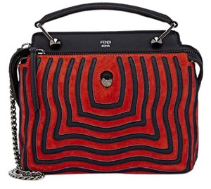 Fendi Dot.com Dotcom Satchel in multi
