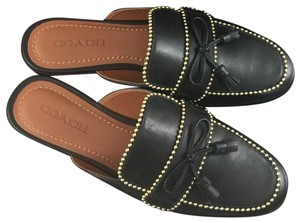 Coach Stassi Slippers Casual Black Sandals