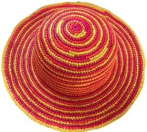 Other Colourful Ladies Crochet Panama Hat from Ecuador