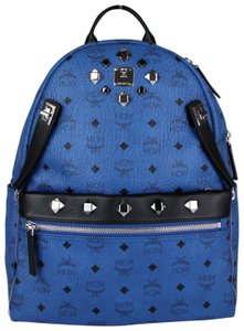 MCM Unisex Coated Canvas Medium Backpack