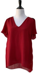 Michael Kors Top Red and Black