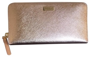 Kate Spade Kate spade wallet in leather rose gold