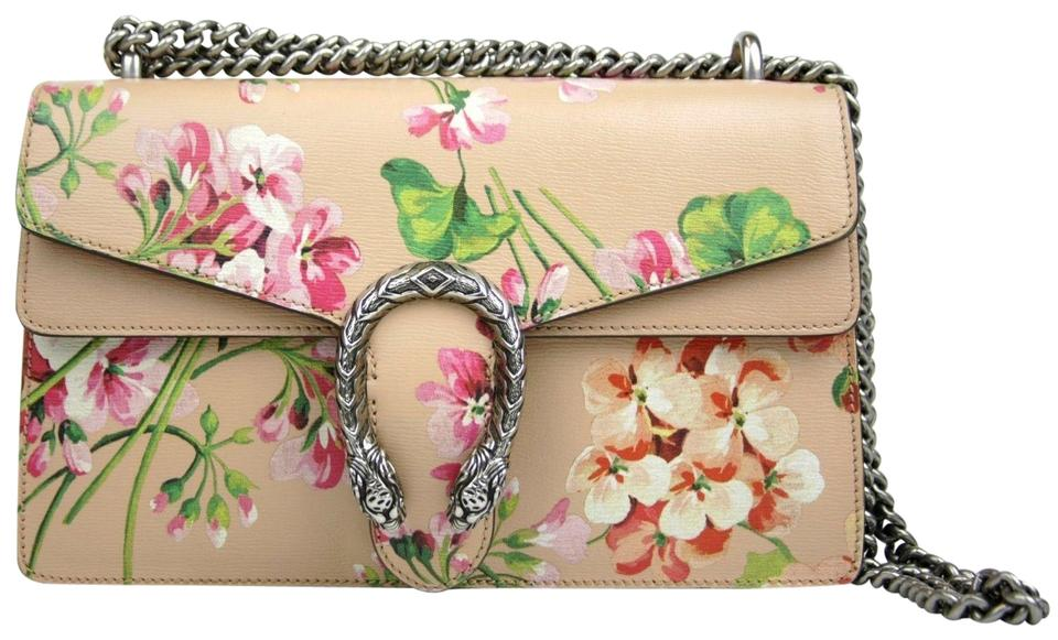 95e634069d5 Gucci Dionysus Women s Blooms 400249 Pink Leather Shoulder Bag - Tradesy