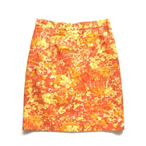 Michael Kors Mini Skirt orange and yellow