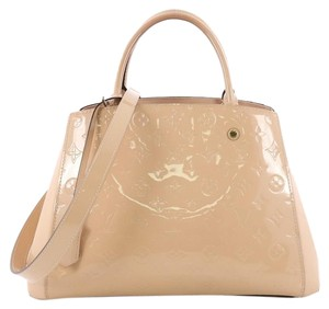 Louis Vuitton Handbag Leather Tote in beige