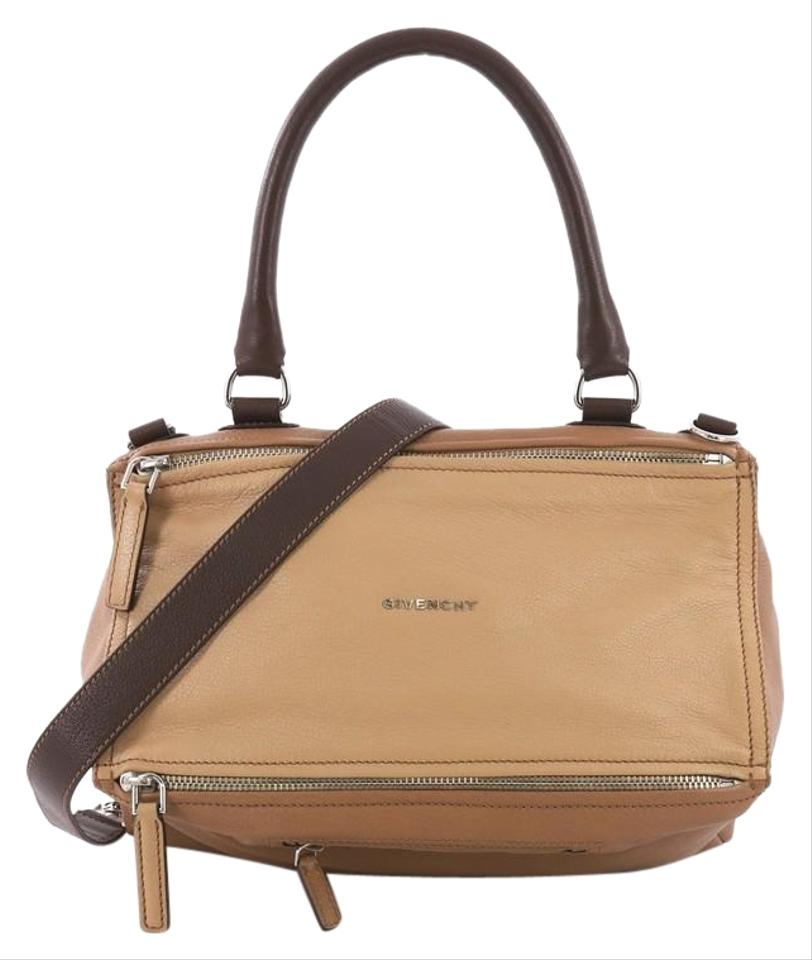 d2da322981 Givenchy Pandora Medium Brown Leather Shoulder Bag - Tradesy
