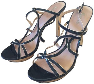 Marciano Black Gold Sandals