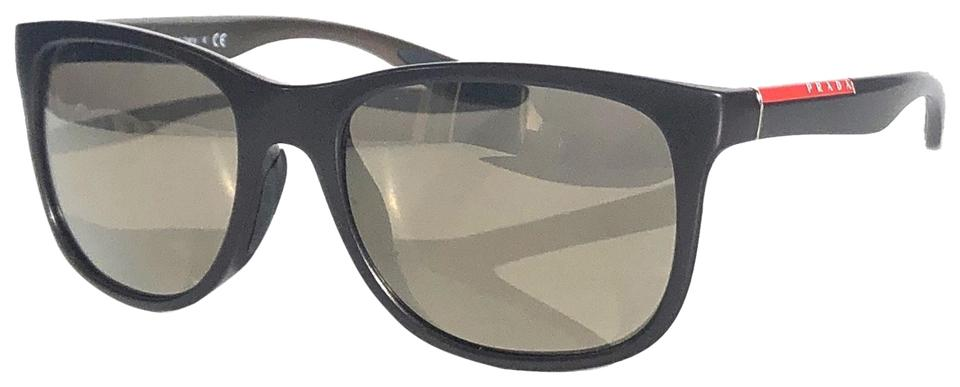 cc5e56f83398 Prada Brown New with Mirrored Lens Sps 03o Nas1c0 Free 3 Day Shipping  Sunglasses